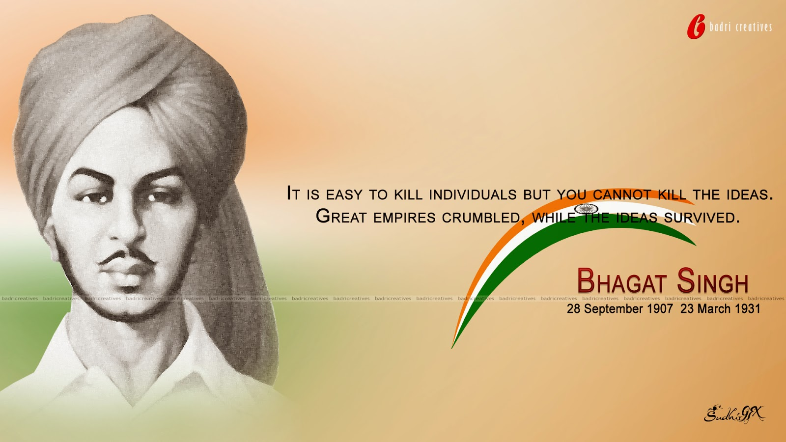 Bhagat Singh Quotes Wallpapers Hd Backgrounds Images Pics Photos