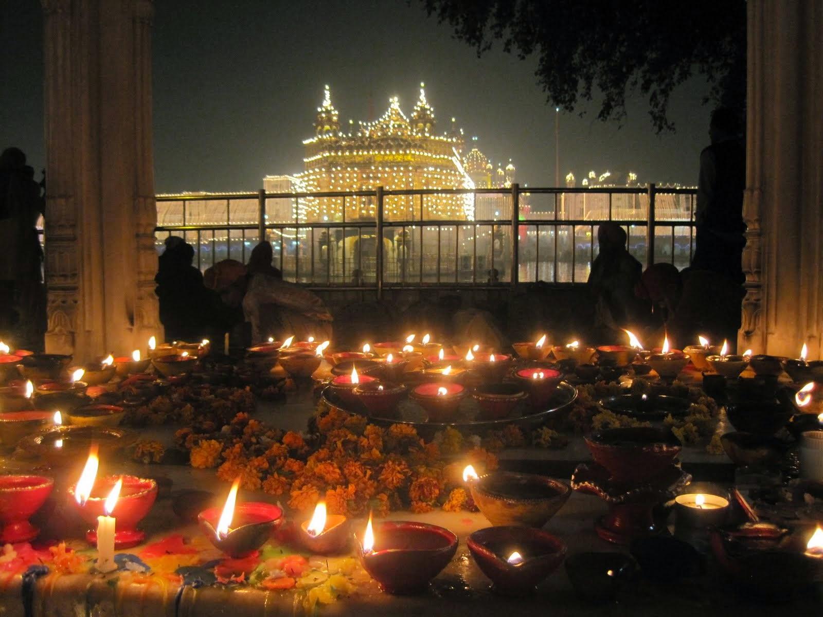 Amritsar Golden Temple Diwali Desktop Wallpaper 25167