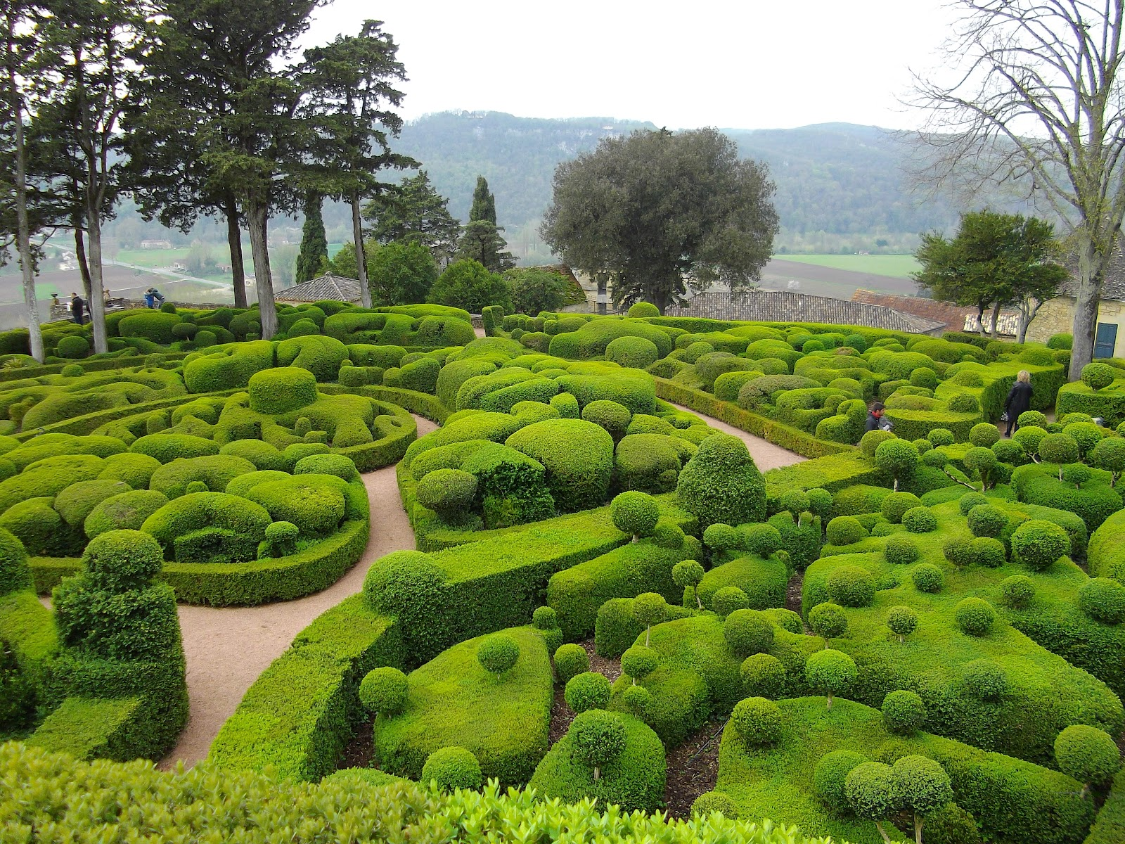 The Gardens At Marqueyssac Vezac France Widescreen Wallpapers 27422